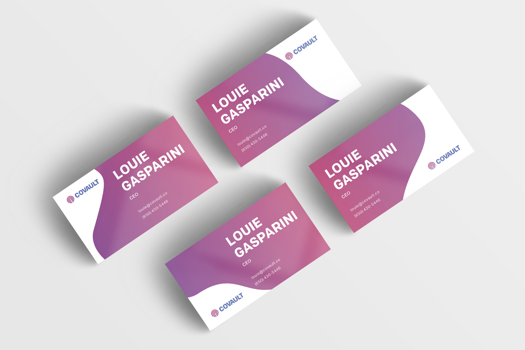 Business Card Mockup 15 (FOUR)
